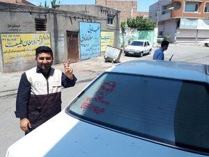 """پویش """"رای من هدیه به حاج قاسم"""" در اردبیل+ تصاویر"""