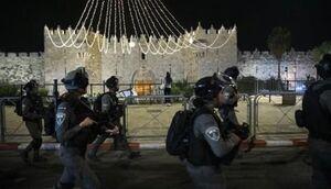 دهها معترض فلسطینی در حمله پلیس رژیم صهیونیستی زخمی شدند