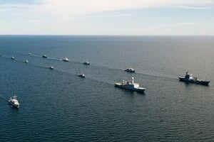 برگزاری رزمایش دریایی ناتو در بالتیک با مشارکت ۴۰ رزمناو