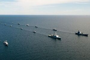 برگزاری رزمایش دریایی ناتو در بالتیک با مشارکت 40 رزمناو - کراپشده