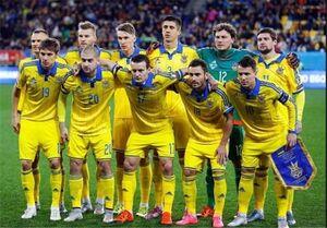 پیراهن جنجالبرانگیز اوکراین در یورو و واکنش تند مقامهای روسی + عکس