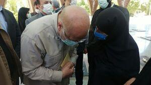 عکس/ درد دل مردم ایلام با رئیس مجلس