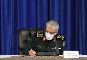 پیام تسلیت سردار باقری به مناسبت شهادت شهیدان مجیدی و عبداللهزاده