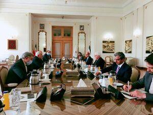 عکس/ دیدار نماینده سازمان ملل در امور یمن با ظریف