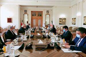 دیدار ظریف با نماینده دبیرکل سازمان ملل متحد