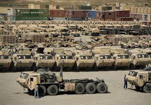آمریکا چقدر تجهیزات را از افغانستان خارج کرده است؟