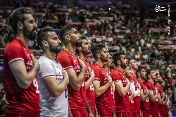 علت شیرینی برد والیبال ایران از آمریکا به روایت فواد ایزدی
