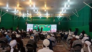 آیت الله رئیسی در جمع صدها نفری علمای اهل سنت حضور یافت