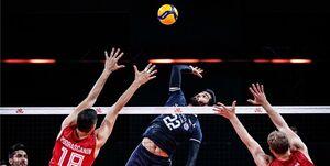 بهترینهای والیبال ایران مقابل صربستان