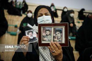 عکس/ بانوان حامی رئیسی در خوزستان
