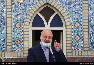 فیلم/ حضور قالیباف در گردهمایی ائمه جماعت تهران