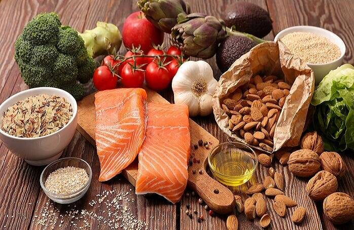 غذايي،رژيم،مديترانه،علائم،مطالعه،كربوهيدرات،سبزيجات،بيماران، ...