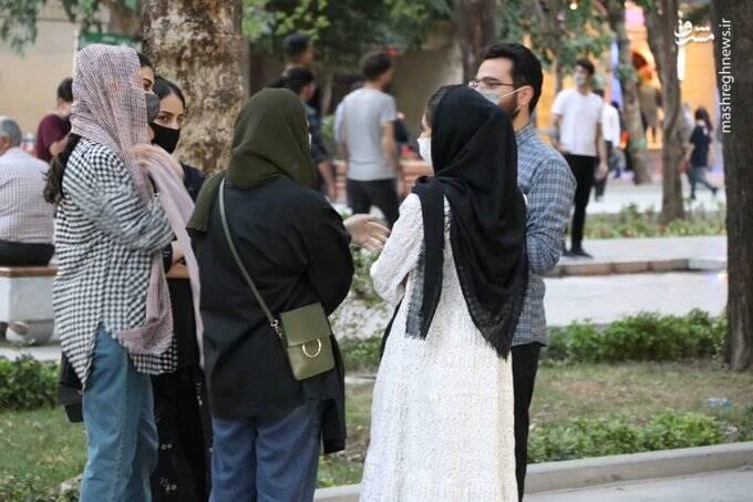تبلیغ میدانی در چهارباغ اصفهان+ عکس