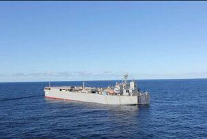 وضعیت ناوگروه نیروی دریایی ارتش در اقیانوس اطلس
