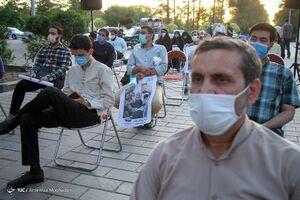 عکس/ گردهمایی حامیان جلیلی در بهشت زهرا