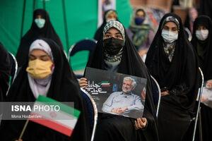عکس/ نشست سعید جلیلی با دختران رای اولی