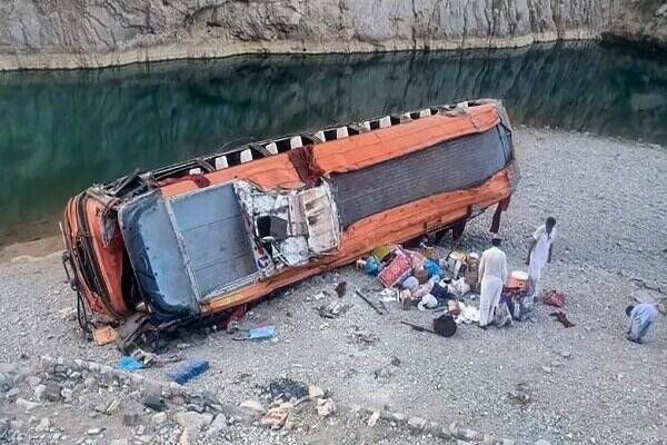 گزارش،سقوط،اتوبوس