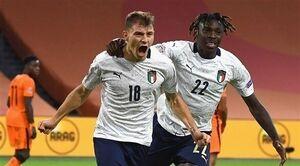 تصویری جالب از بازیکنان ایتالیا به هنگام خواندن سرود ملی