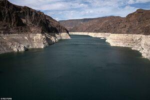 عکس/ وضعیت هشدار کمبود آب در آمریکا