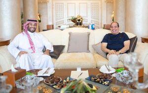 عکس/ دیدار بنسلمان با السیسی