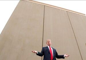 بودجه ترامپ برای دیوارمرزی به مراکز نظامی برمیگردد