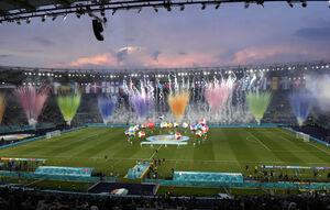 عکس/ مراسم افتتاحیه یورو ۲۰۲۰