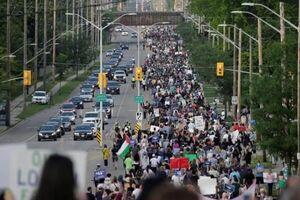 تظاهرات مردم کانادا در حمایت از مسلمانان