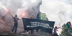 تظاهرات هزاران نفری در فرانسه علیه محدودیتهای آزادی