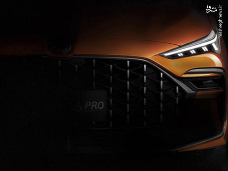 رونمایی رسمی از خودرو ام جی ۶ پرو +عکس