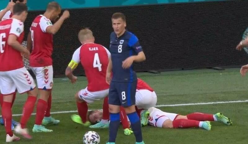 یورو 2020 , تیم ملی فوتبال دانمارک , تیم ملی فوتبال فنلاند ,