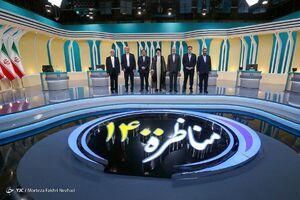 عکس/ حاشیههای سومین مناظره تلویزیونی انتخابات