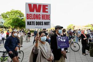 عکس/ تظاهرات در کانادا علیه مسلمان کشی