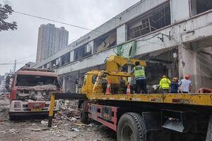 ۱۱ کشته و بیش از ۱۴۰ مصدوم بر اثر انفجار در چین +عکسوفیلم