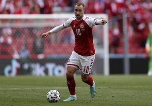 یوفا: دانمارک نمیتواند بازیکنی را جایگزین اریکسن کند