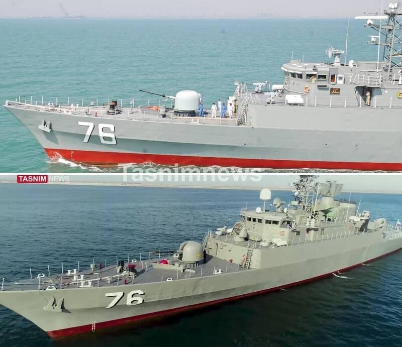 ایران چگونه ناوهای جنگی خود را میسازد؟