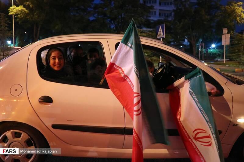 حضور خانوادگی در کارناوال خودروئی حامیان سیدابراهیم رئیسی