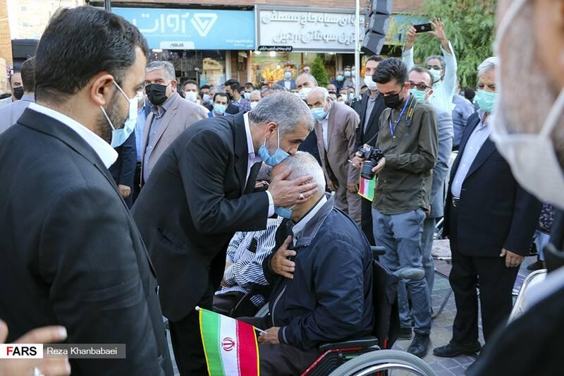 گردهمایی بزرگ حامیان سید ابراهیم رئیسی در اردبیل