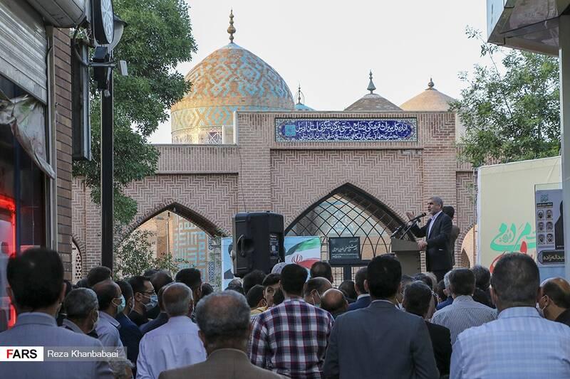 سخنرانی دکتر علی نیکزاد نائب رئیس مجلس شورای اسلامی در بزرگترین گردهمایی حامیان سید ابراهیم رئیسی در اردبیل