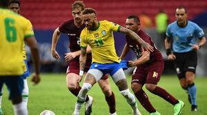 آغاز کوپا آمه ریکا با پیروزی برزیل و کلمبیا