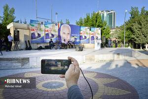 عکس/ سفر تبلیغاتی مهرعلیزاده به تبریز