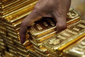 قیمت جهانی طلا به پایینترین سطح یک هفته اخیر رسید