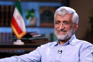 حضور «جلیلی» در جمع تاکسیرانان تهرانی میدان آزادی