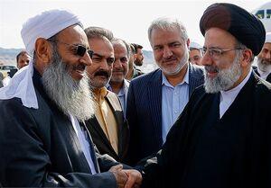 حمایت مولوی عبدالحمید از حجت الاسلام رئیسی در انتخابات ۱۴۰۰