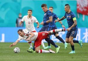 عکس/ شکست لهستان مقابل اسلواکی