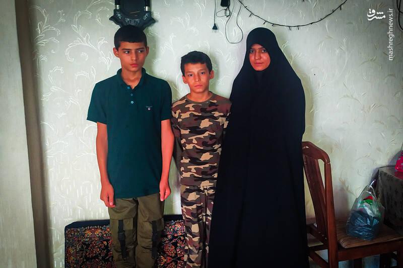 شهادت برادر، «سیدناصر» را دگرگون کرد+ عکس