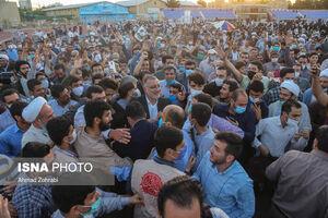 عکس/ اجتماع بزرگ مردم قم در حمایت از جبهه انقلاب