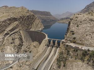 عکس/ مخزن سد «شهید عباسپور» خالیتر از همیشه