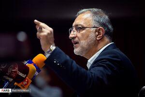 عکس/ حاشیههای نشست خبری علیرضا زاکانی