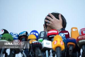 عکس/ حاشیههای نشست خبری همتی