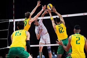 والیبال ایران و استرالیا